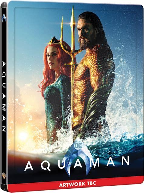 dc blockbuster aquaman    uk  steelbook
