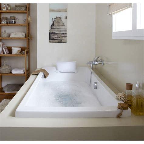 mitigeur cuisine design baignoire rectangulaire l 180x l 80 cm blanc sensea