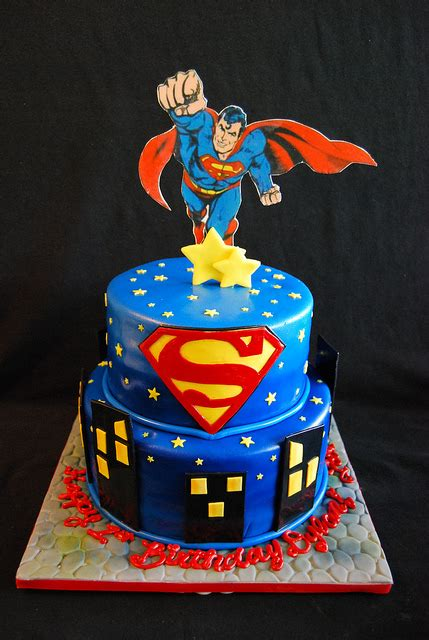 Superman Cake  Superman Cakes, Action Figures And Action