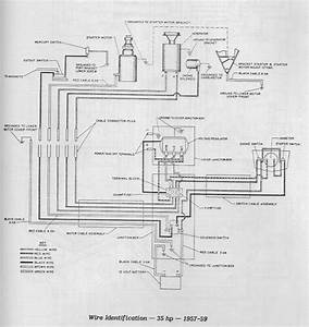 1957 Evinrude 35 Hp  Junction Box Page  1