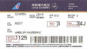 Bad boarding pass – no e-ticket number Images - Frompo