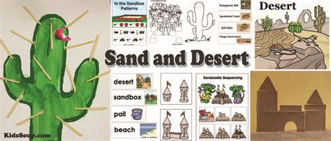 sand and desert preschool activities crafts lessons and 602 | Sand Desert activities Lessons preschool