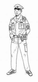 Police Coloring Policeman Printable Sheets Patrolman Linseed Gits Deviantart Cartoon Officers Pre Provide Bestcoloringpagesforkids sketch template