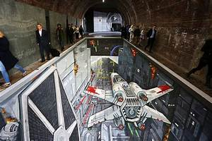 Star Wars : un trompe-l'oeil dans le métro de Londres pour ...