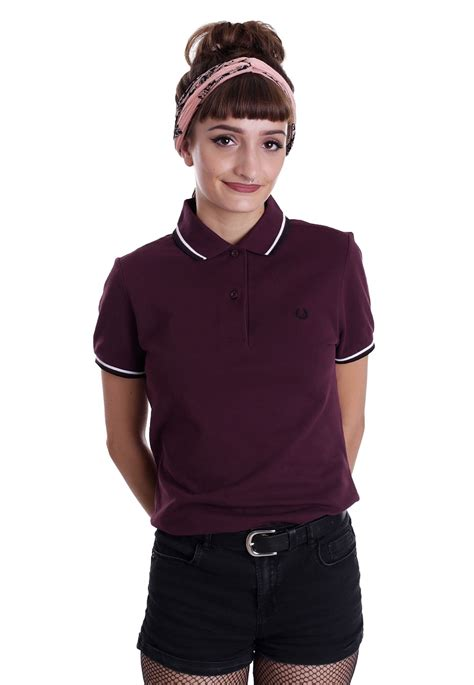 fred perry köln fred perry tipped fred perry mahogany white black polo streetwear shop impericon de