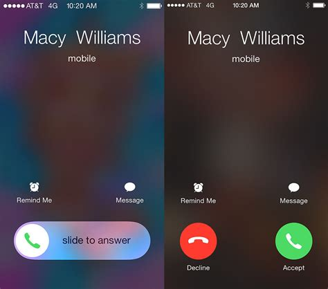 iphone call screen why iphones switch between a slider and buttons for calls