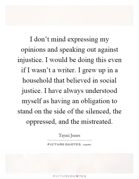 Speaking Out Against Injustice Quotes