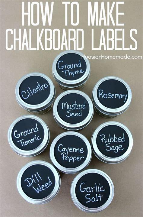 chalkboard labels jars jar labels  mason
