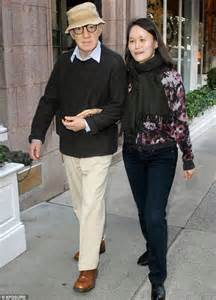 Woody Allen emerges arm in arm with wife Soon-Yi... after ...