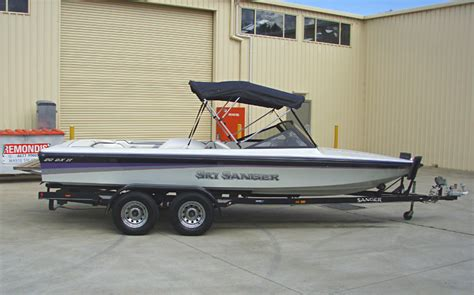Sanger Boat Swim Platform by Sanger 1996 Dxii Ski Boat 138 Apex Marine