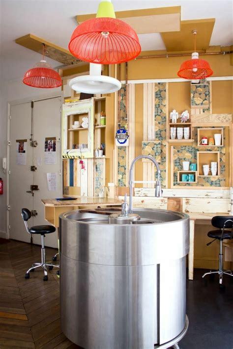 cuisine la la cuisine équipée avec ilot central 66 idées en photos