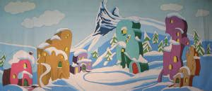 Whoville Grinch Backdrop by Whoville Musical Backdrops Grosh
