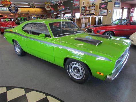 plymouth duster   restored  plymouth