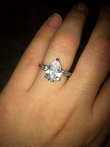 17 best images about engagement rings on pinterest With pear wedding ring