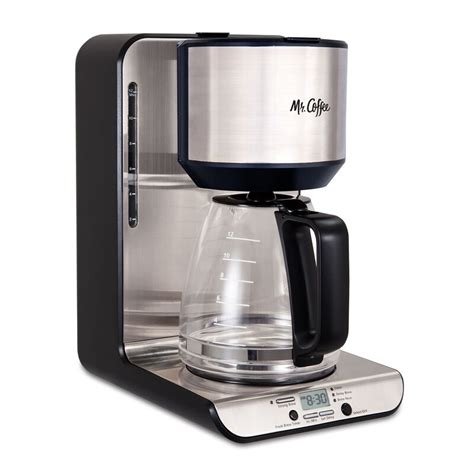 Coffee 12 cup programmable brewer offers you the chance to have great coffee at any time. Mr. Coffee 12-Cup Programmable Coffee Maker & Reviews | Wayfair