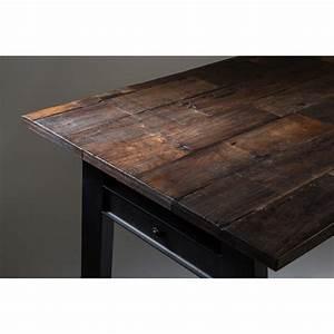 Table A Manger Vintage : table vintage bois d 39 orme et m tal crude par drawer ~ Teatrodelosmanantiales.com Idées de Décoration
