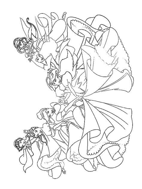 Prinsessen Kleurplaat Disney by Kleurplaten En Zo 187 Kleurplaten Disney Prinsessen