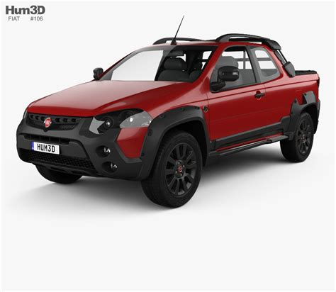 Fiat Strada by Fiat Strada 3d Models Buy And In 3ds Max Obj