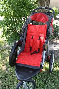Stroller Pad Liner Sewing Pattern Pdf And Tutorial Car Seat