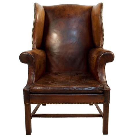 leather wingback chair lounge chairs