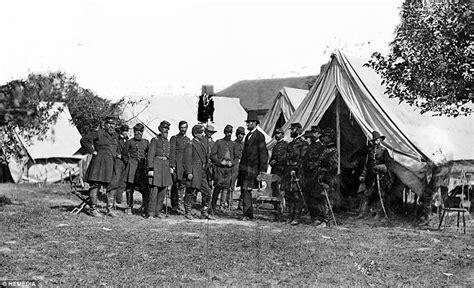 haunting images  civil war casualties captured