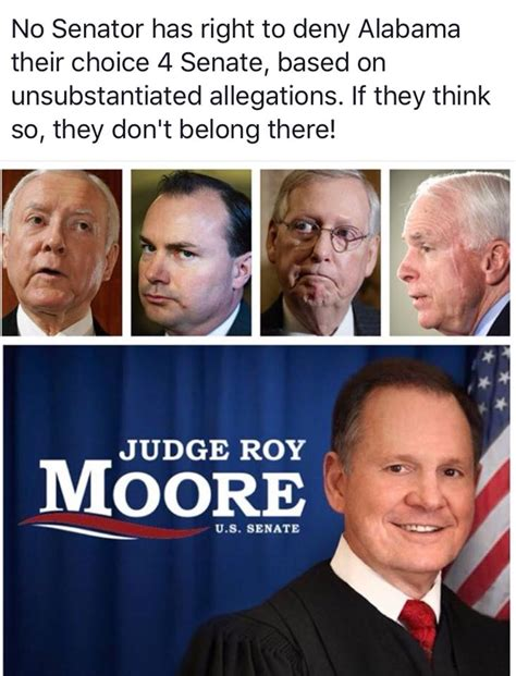 Roy Moore Memes - a view from the right commentary on science politics religion