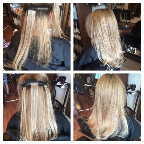 hotheads hair extension gentlemen prefer blonde
