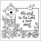 Coloring Christian Printable Pages Bible Sheets Religious Children Colouring Printables Church Sheet Print Scripture Sunday Lord Song Verses Adults Faith sketch template