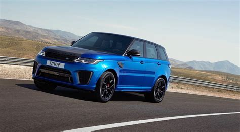 Range Rover Svr 2018 by 2018 Range Rover Sport Svr Gets An Early Reveal The