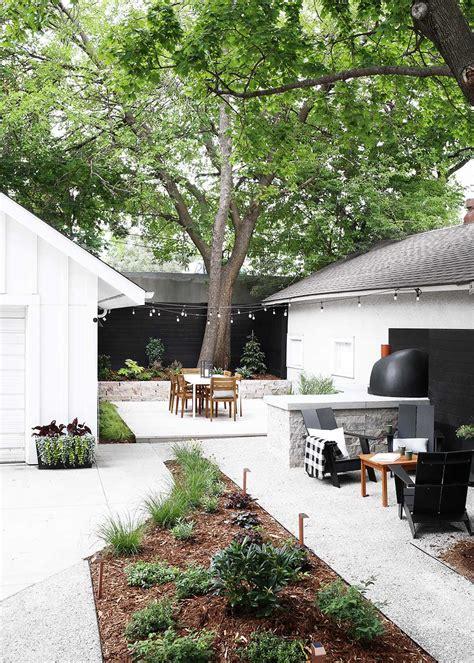 Contemporary Backyard by Minnesota Modern Backyard The Fauxmartha