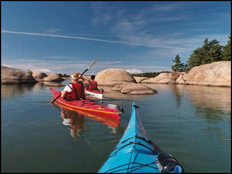 Canoes In Ontario by Killarney Outfitters Killarney Provincial Park Canoe And