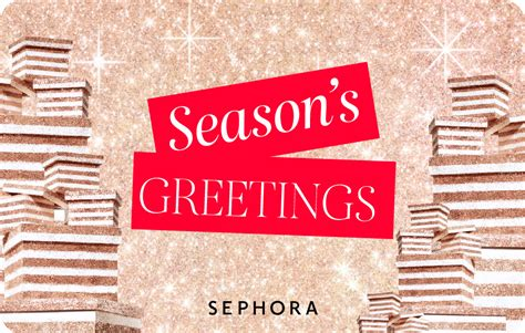 Discover an unparalleled experience in beauty today! Buy E-Gift Cards Online | Sephora Hong Kong