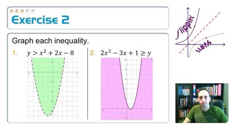49 Graph And Solve Quadratic Inequalities, 1 Youtube