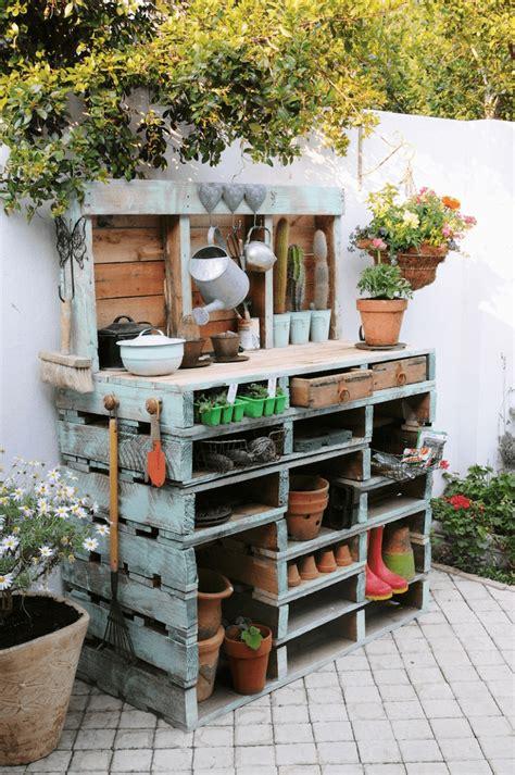 potting bench ideas  designs