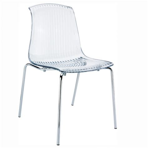 les chaises transparentes 4 pieds tables chaises et