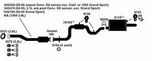 Buick Regal Exhaust Diagram From Best Value Auto Parts