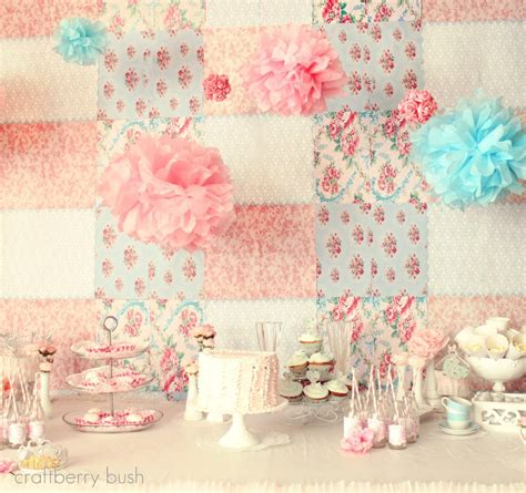 A Shabby Chic Princess Tea Party