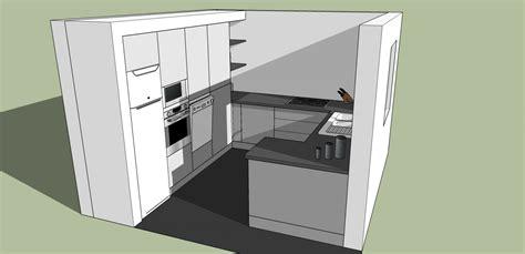 plan en 3d cuisine plan 3d cuisine aménagée sur mesure acn à rennes