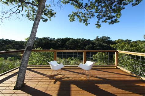 Hog Wire Deck Railing Deck Contemporary With Balcony Board