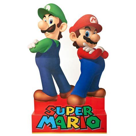 Printable Mario Bros Birthday Cards