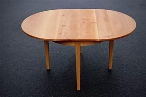 Runder Esstisch Zum Ausziehen : runder tisch mit integrierter verl ngerung sinnesmagnet ~ Michelbontemps.com Haus und Dekorationen