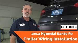 2014 Hyundai Santa Fe Trailer Wiring Installation