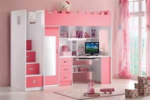Bureau Ado Fille : bureau fille pas cher amazing design armoire chambre ado ~ Melissatoandfro.com Idées de Décoration