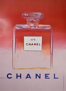 Designer Bottles Chanel 5 Pink Designed By Andy Warhol Modernism