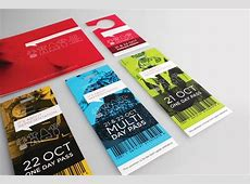 45 Attractive Ticket Designs JayceoYesta