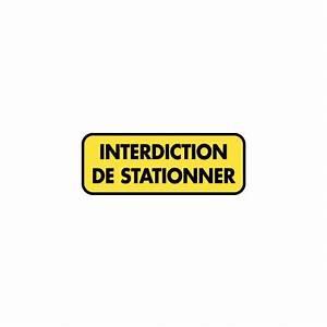 Autocollant Interdiction De Stationner : sticker signal tique interdiction de stationner etiquette autocollant ~ Medecine-chirurgie-esthetiques.com Avis de Voitures