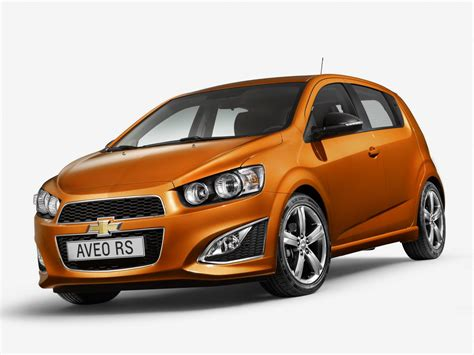 Chevrolet Aveo Rs Photo Leaked European Sale Imminent