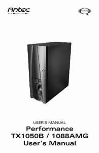 Performance Tx1050b Manuals