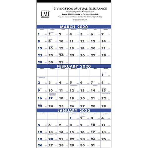 month poster calendar