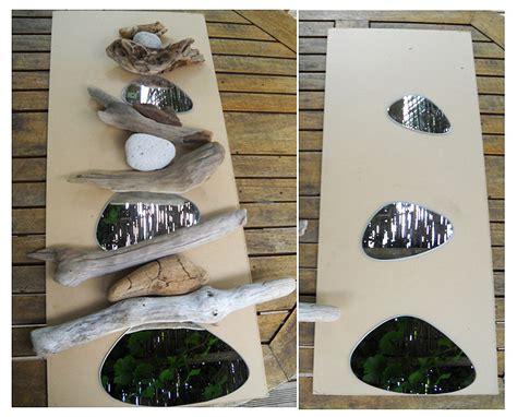 des miroirs galets d 233 co au fil de l eau bois flott 233